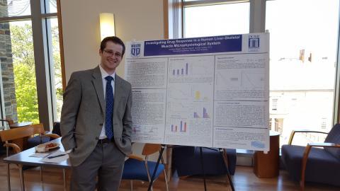 Jonathan Repper presents his research