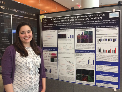 Cristina Fernandez Presents her Work at the 2016 Kewaunee Symposium